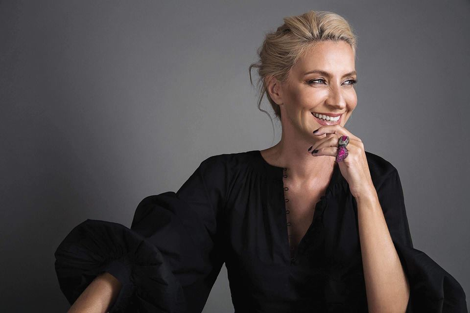 Lena Aroni -Journalist.