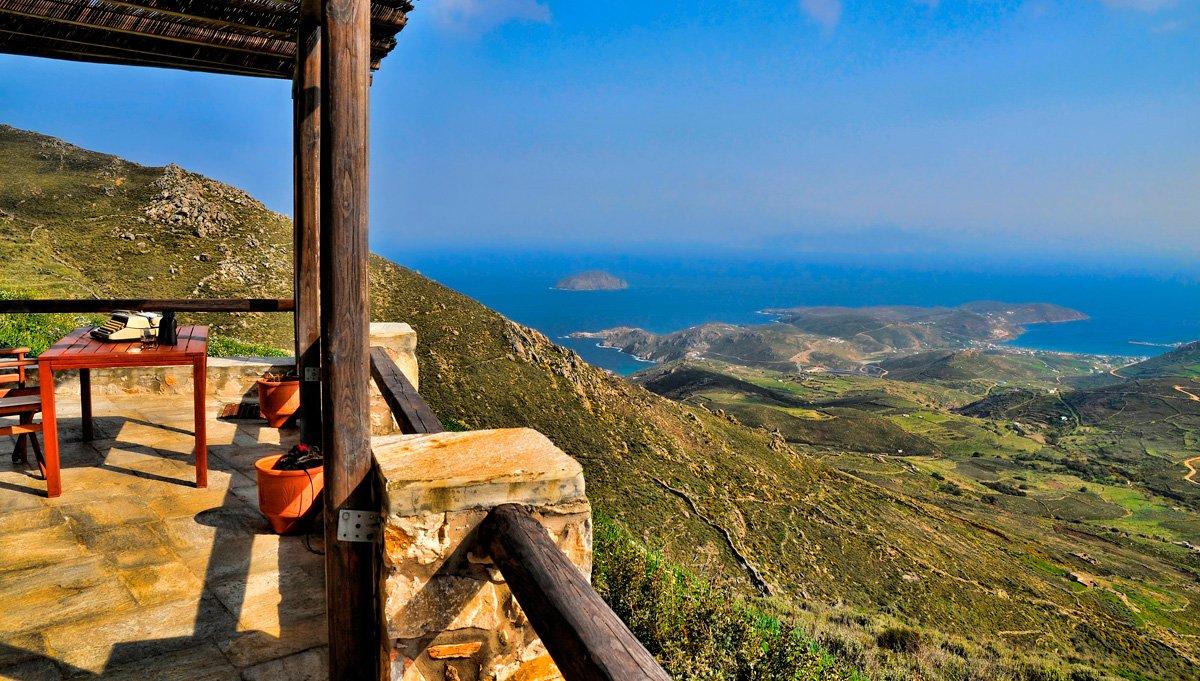 Aria Villas Serifos Cyclades Living Postcards The New