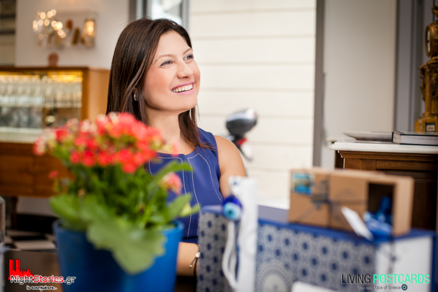 Evelyn Bakinta, Owner and Founder of ''Chic Greek Gifts'' shares her unique story with us.