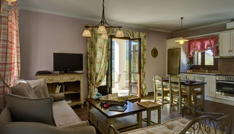 Adastra Suites Ithaca island