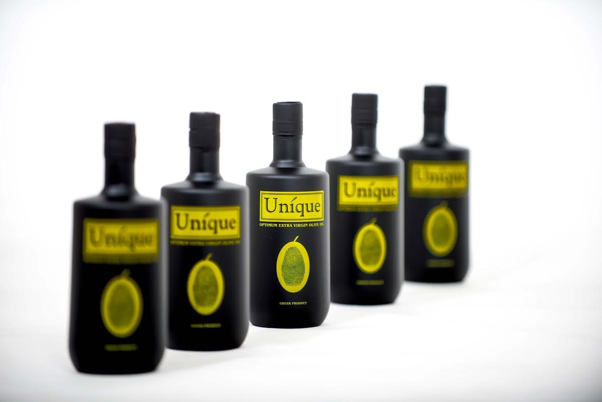 ''Unique Olive Oil''.