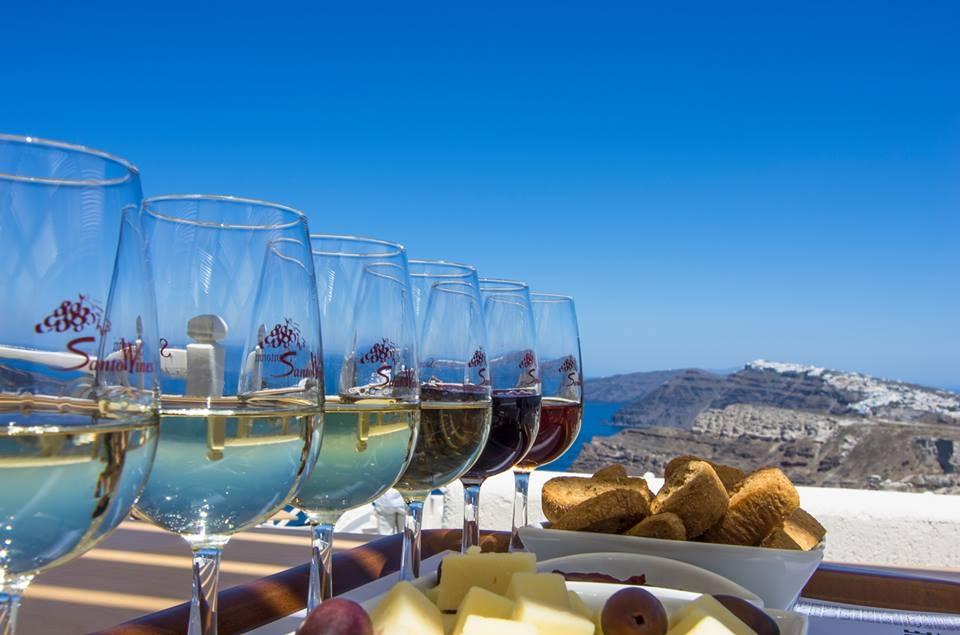 Santo Wines Winery -Santorini