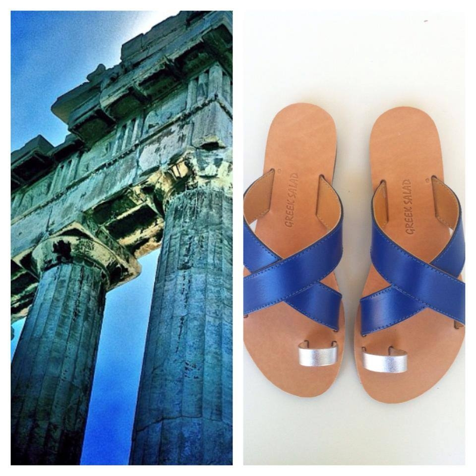 ''Greek Salad Sandals''