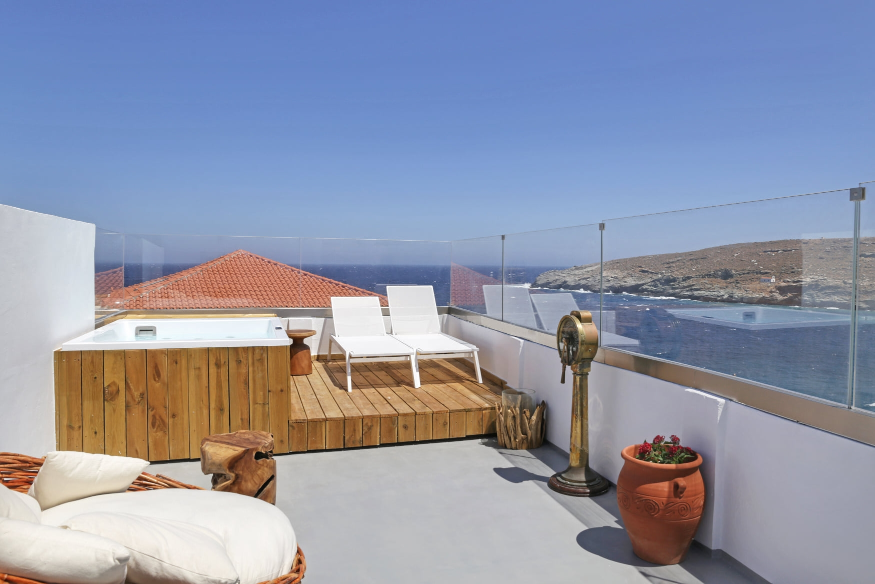 Castel Abaso Boutique Apartments - Andros Island