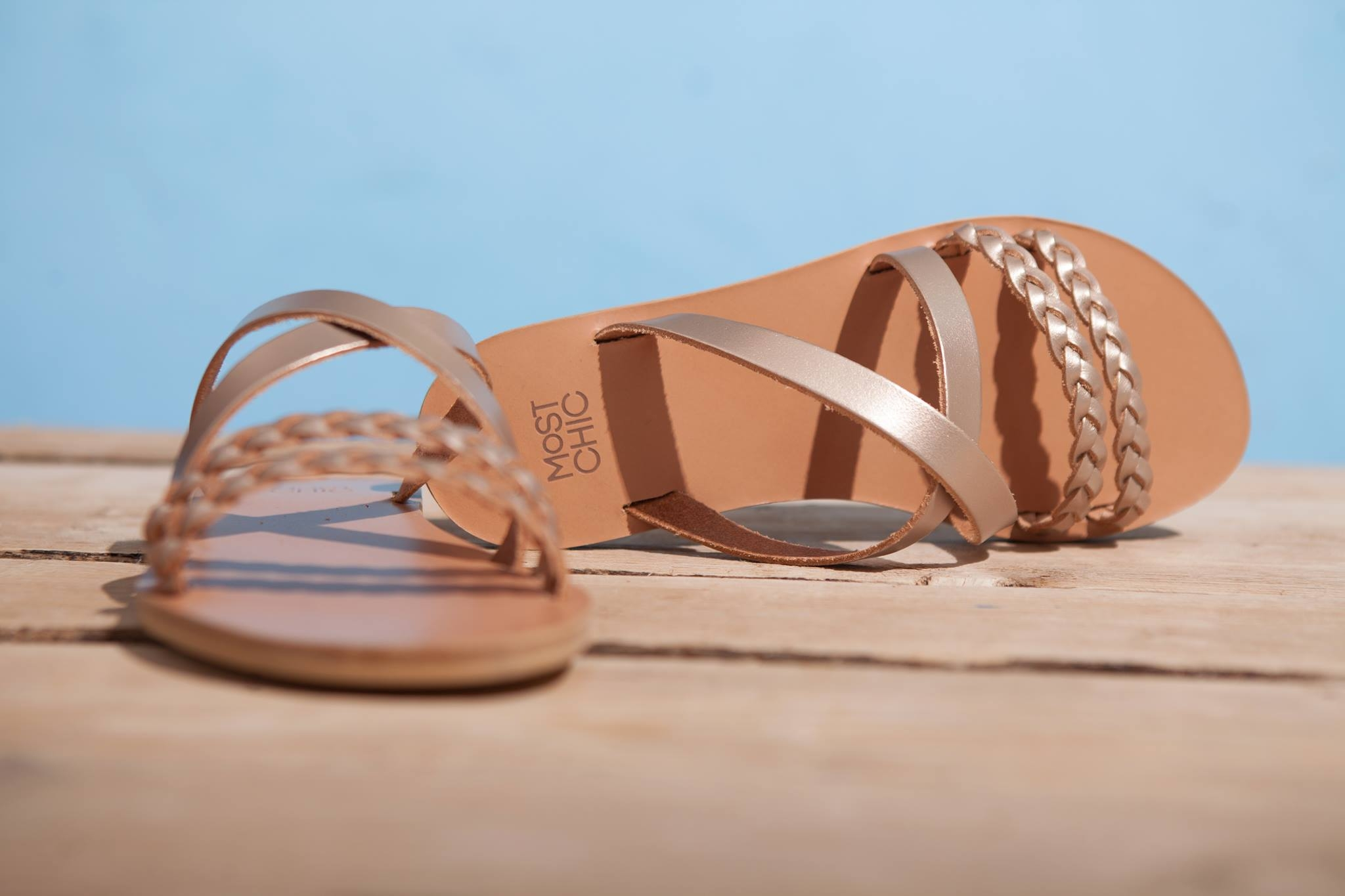 Most Chic Sandals.