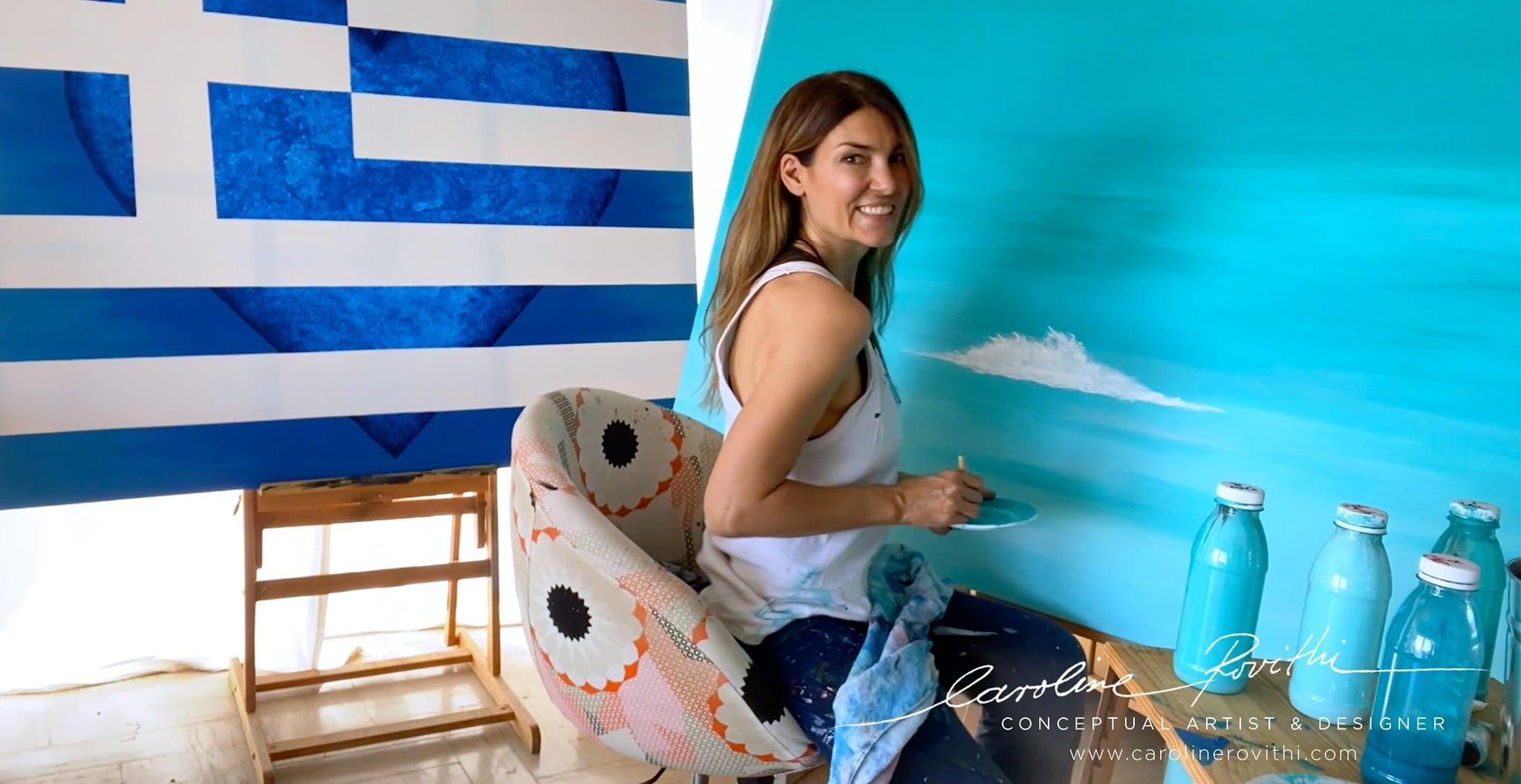 Caroline Rovithi - Conceptual Artist and Designer
