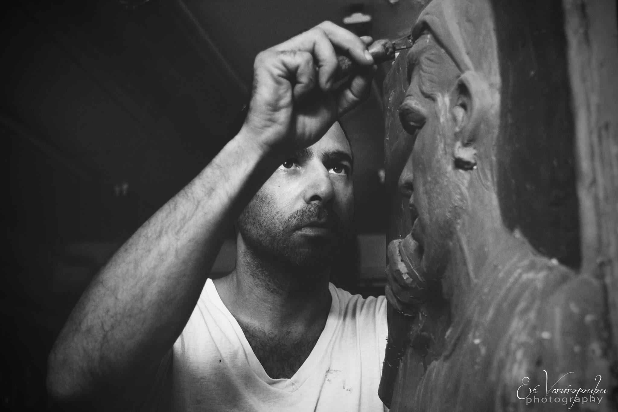 Stathis Alexopoulos sculptor/designer
