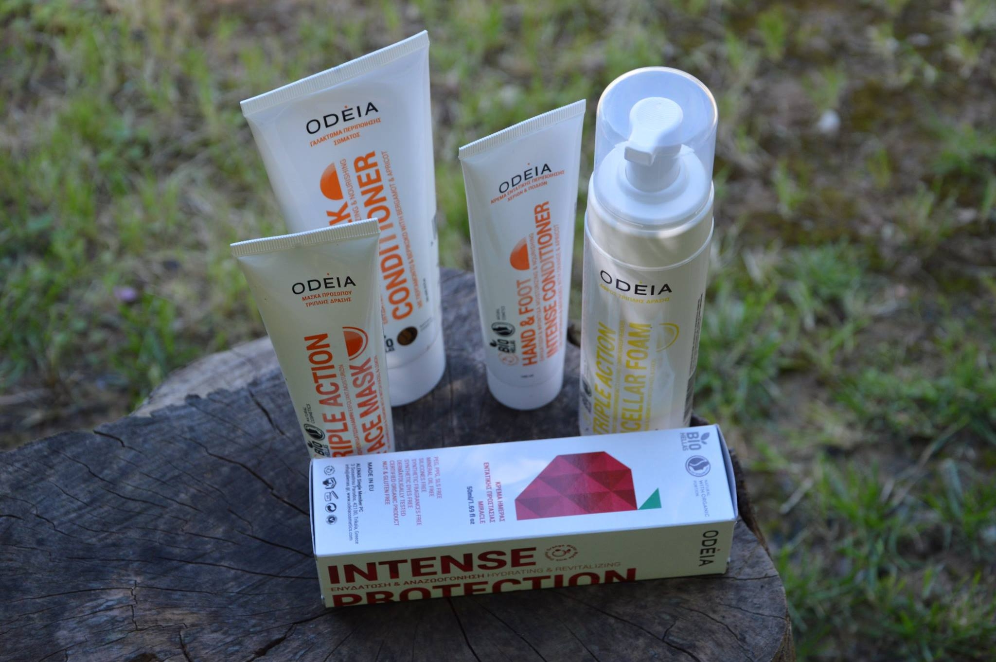 A day close to mother-nature with Odeia Eco Cosmetics.