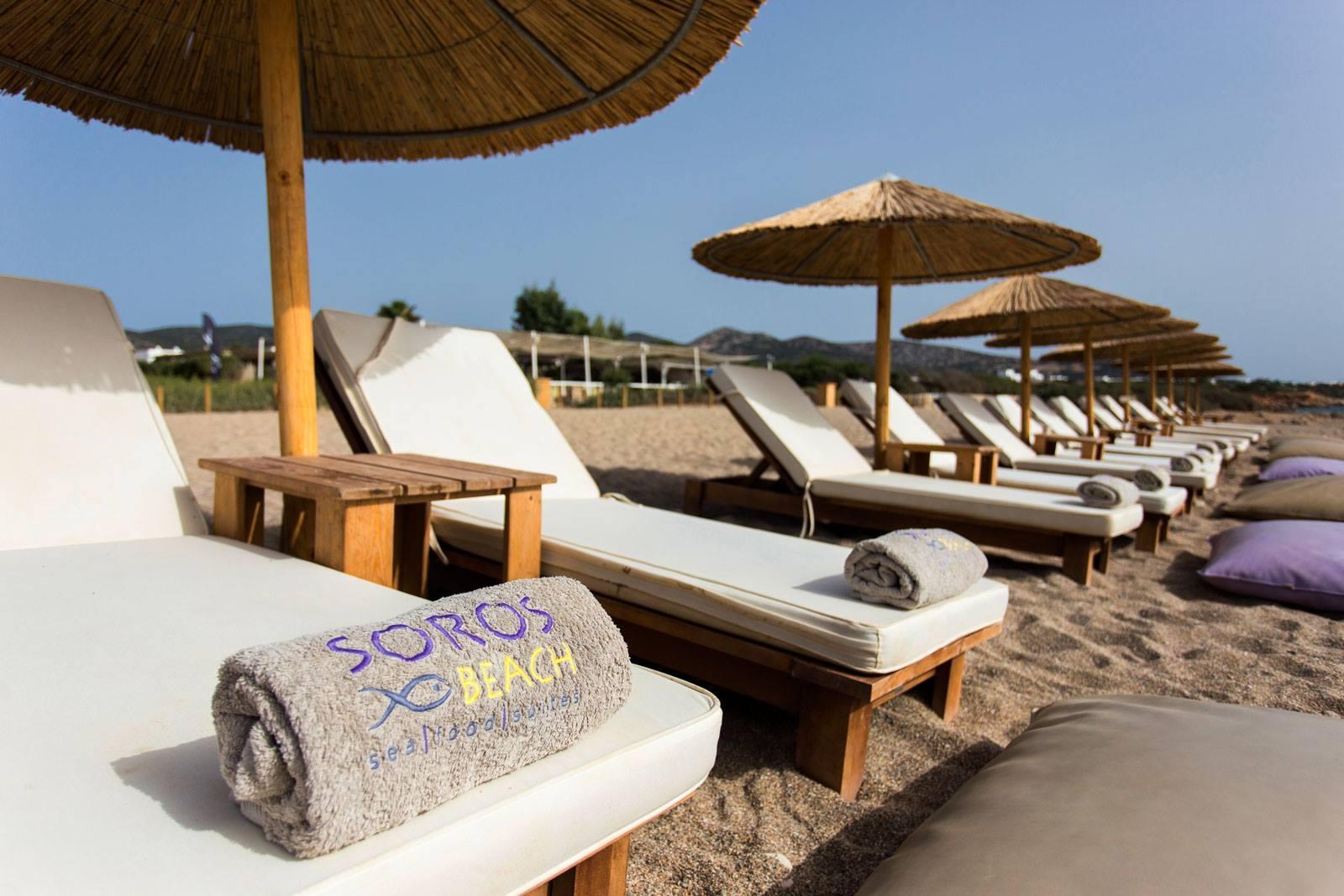 Soros Beach-Seafood-Suites