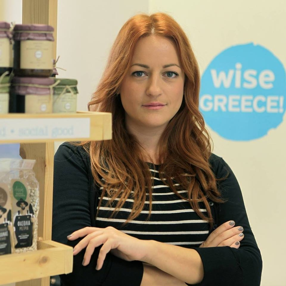 Melina Taprantzi Founder of Wise Greece