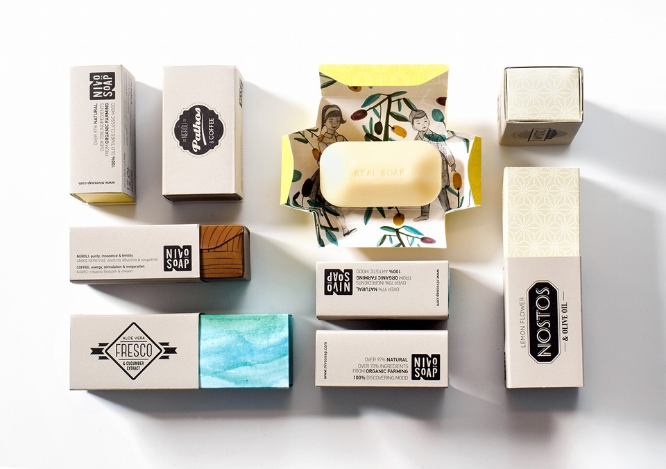 ''Nivo Soap'' Boutique Soap Makers from Crete.