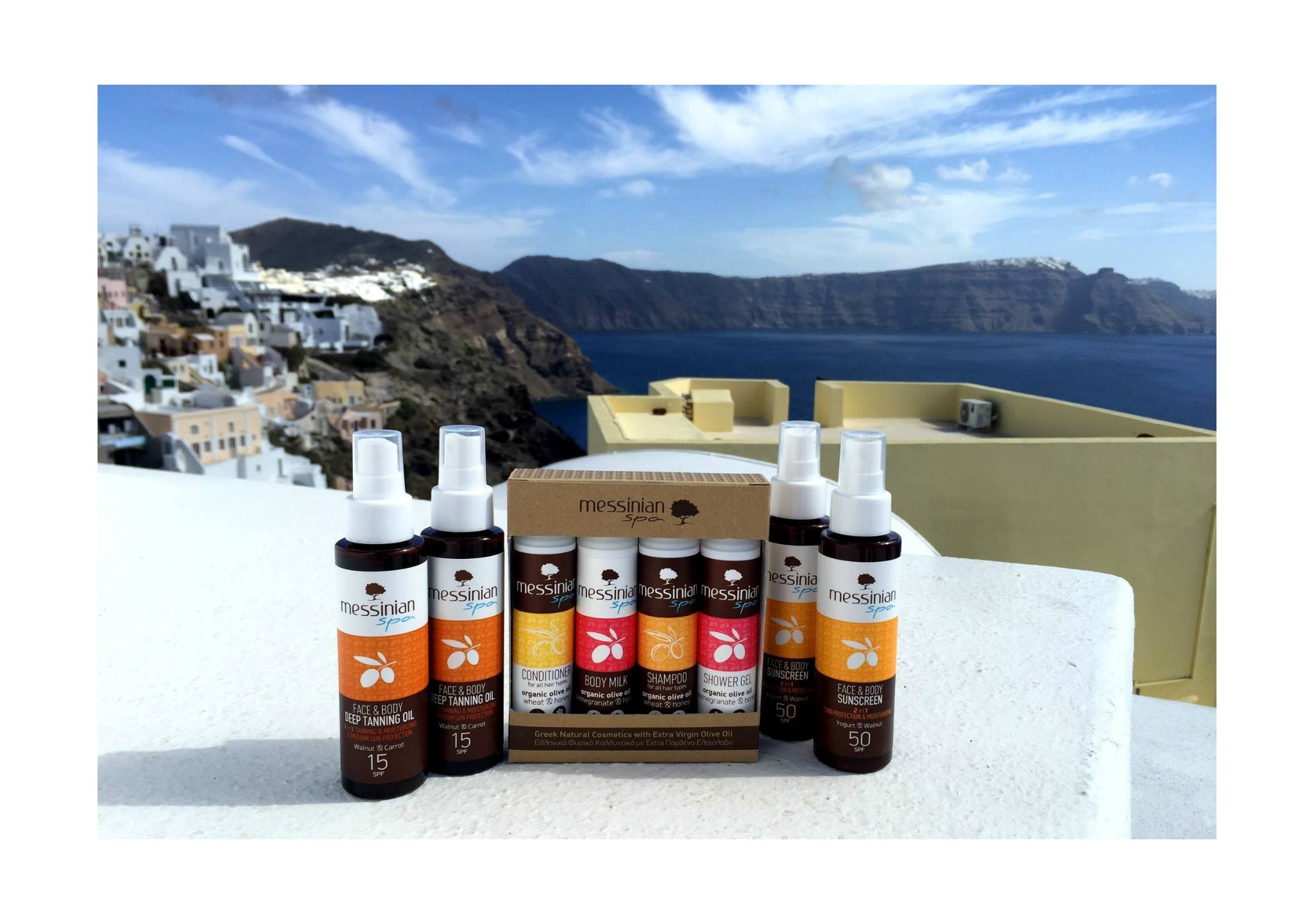 ''Messinian Spa'' - Greek Natural Products.