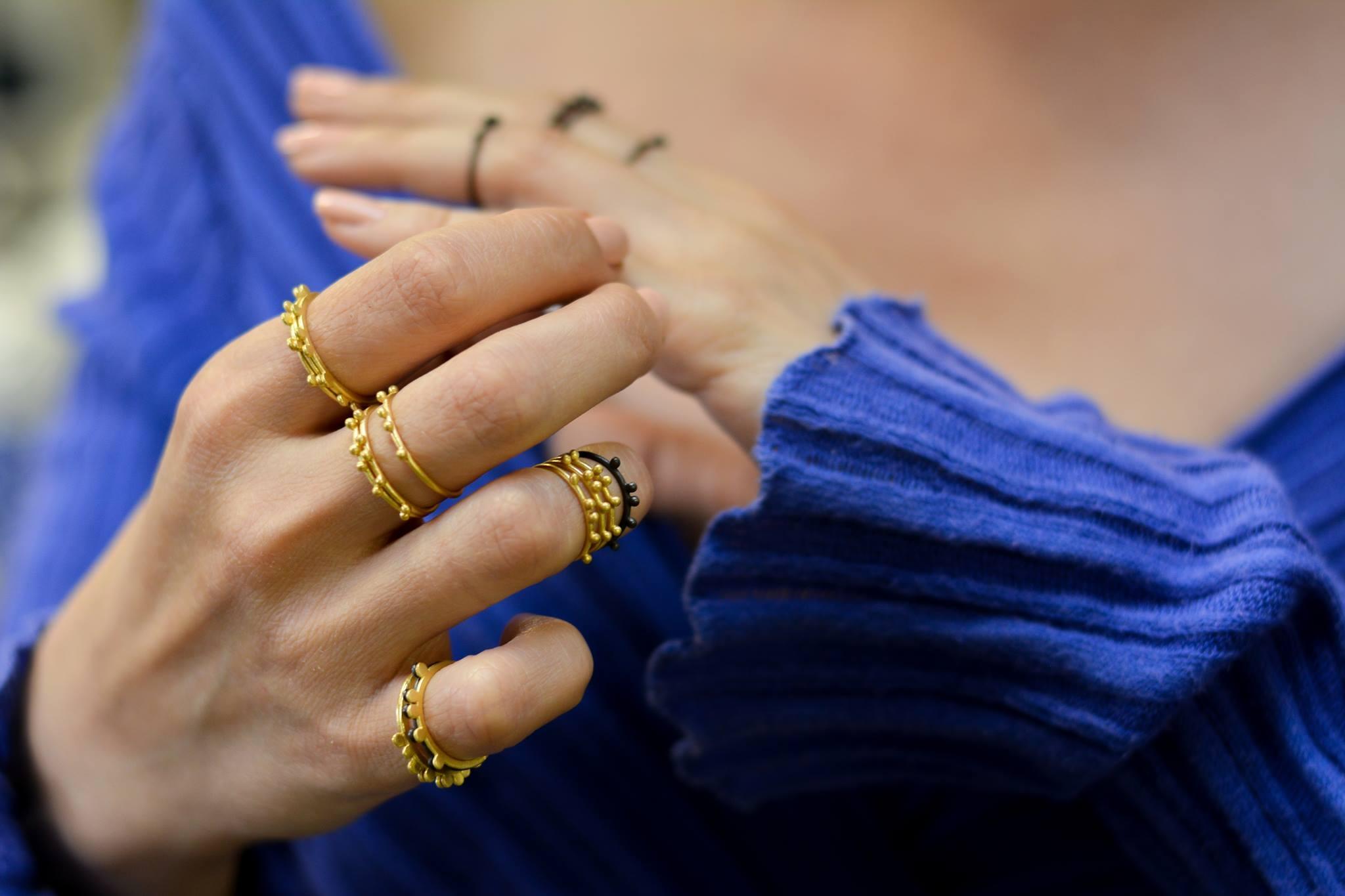 Paraskevi Kokolaki jewellery designer