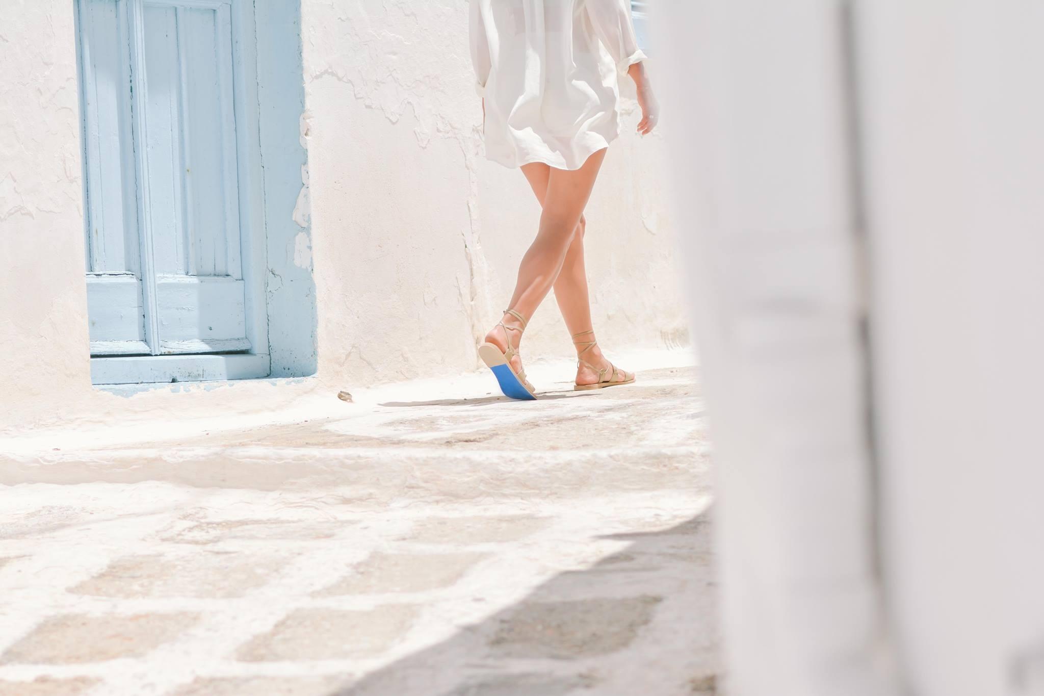 KYMA Handmade Sandals.