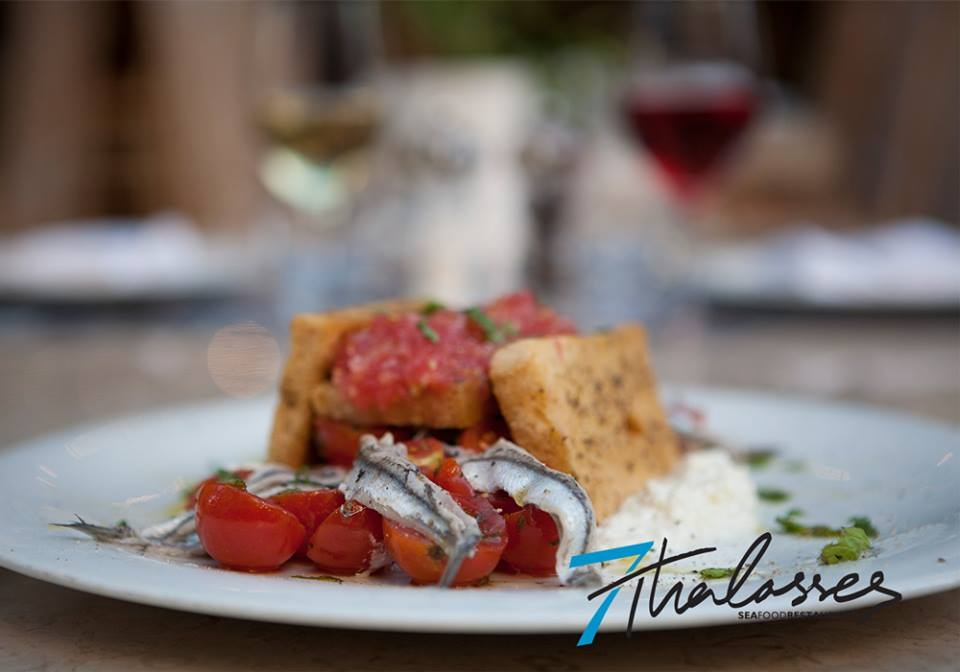 7 Thalasses seafood restaurant Thessaloniki