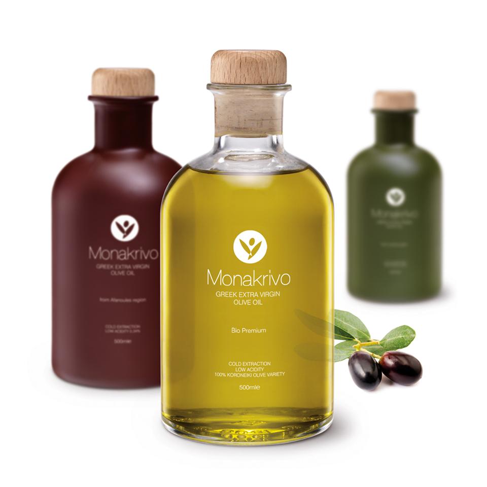 ''Monakrivo'' Olive Oil