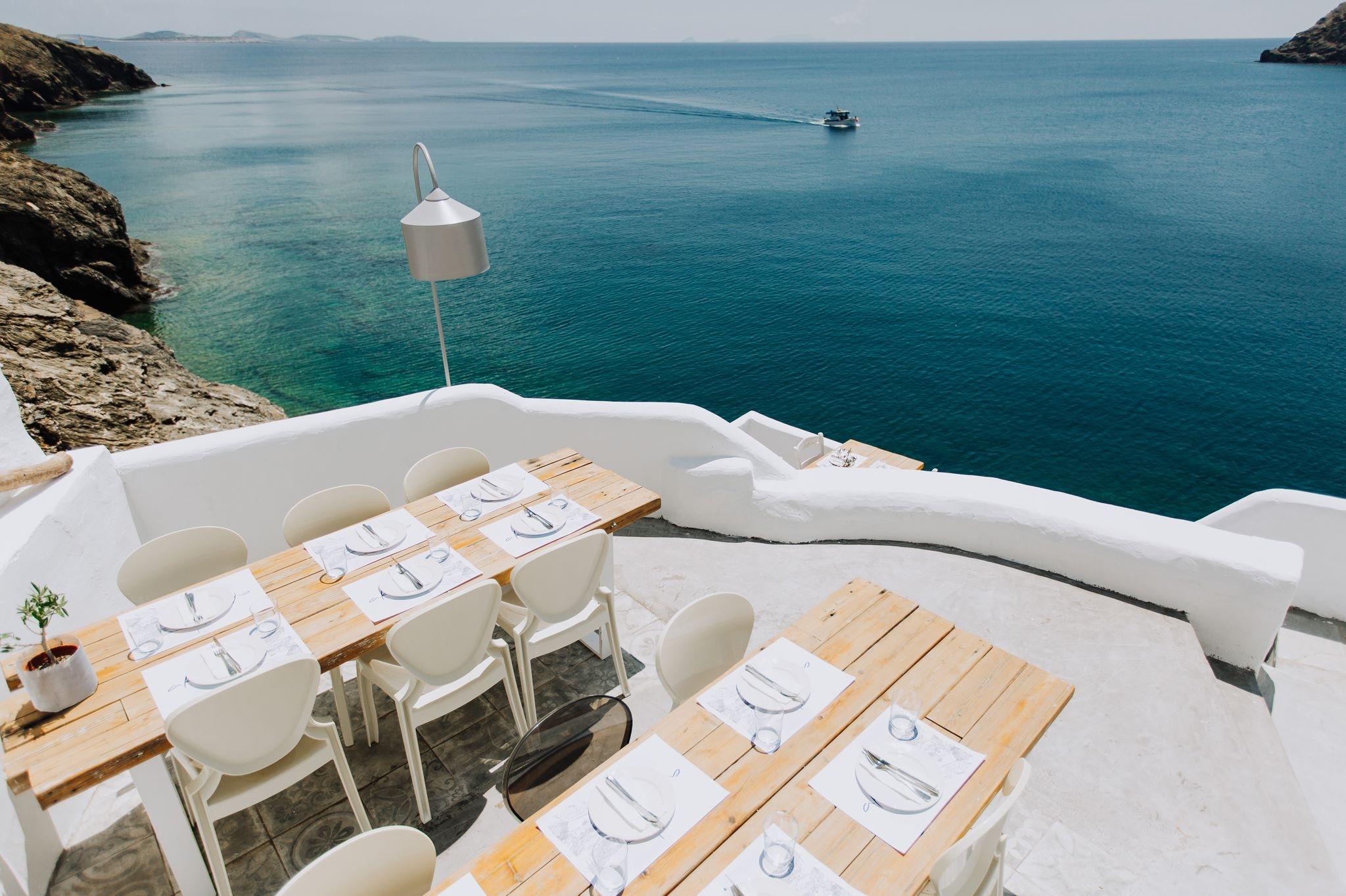 Akti Restaurant Astypalaia island.
