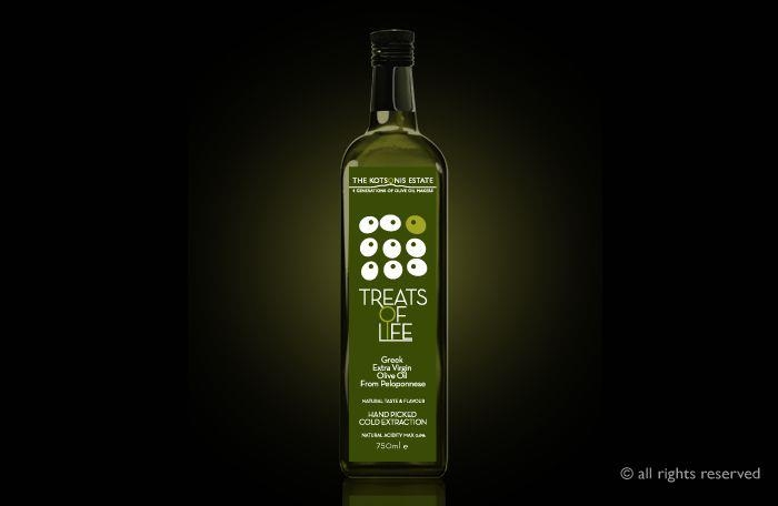 ''The Kotsonis Estate'' Olive Oil