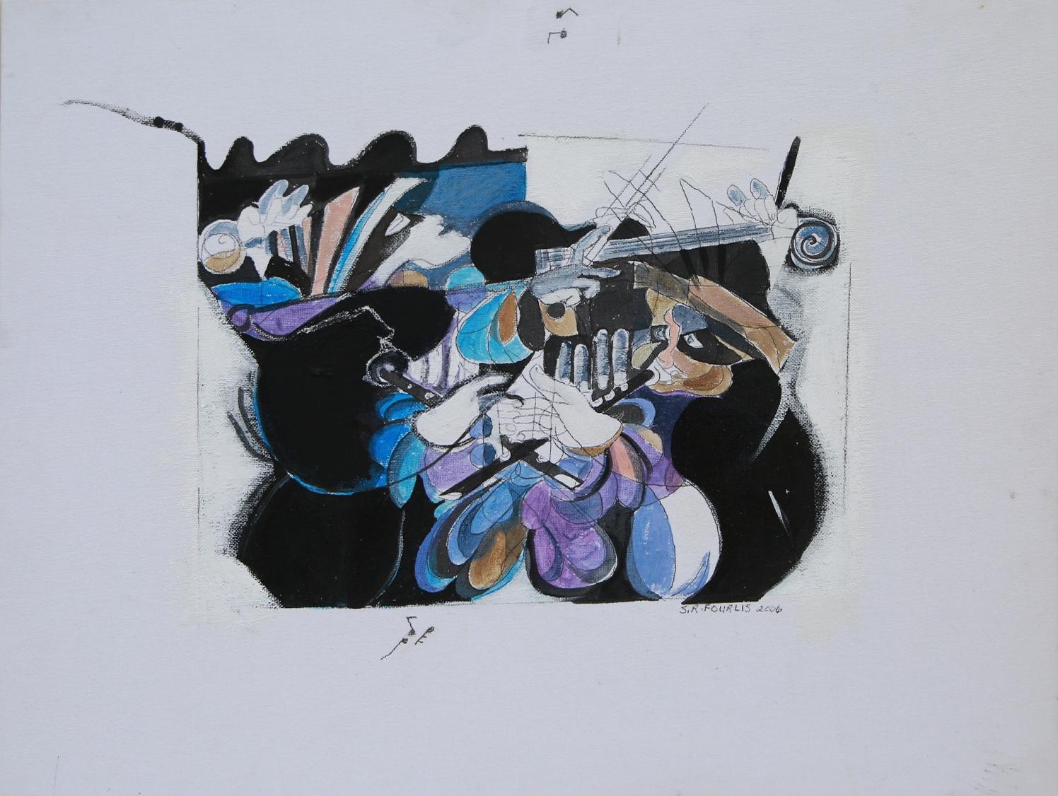 Sandra Fourlis - Artist