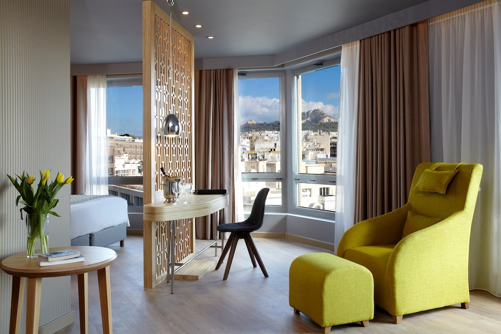 ''Wyndham Grand ''. Affordable Luxury in the heart of Athens.