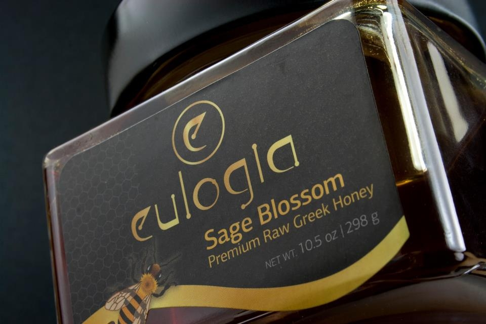 Eulogia Raw Greek Honey & Olive Oil.