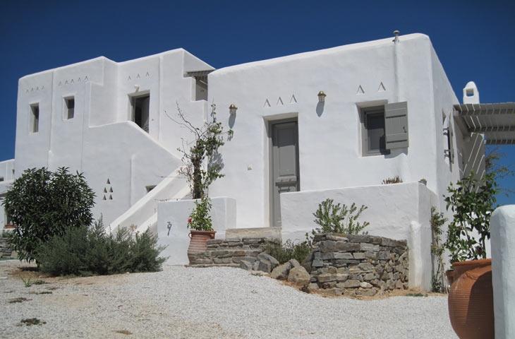 Aeraki Villas Paros island