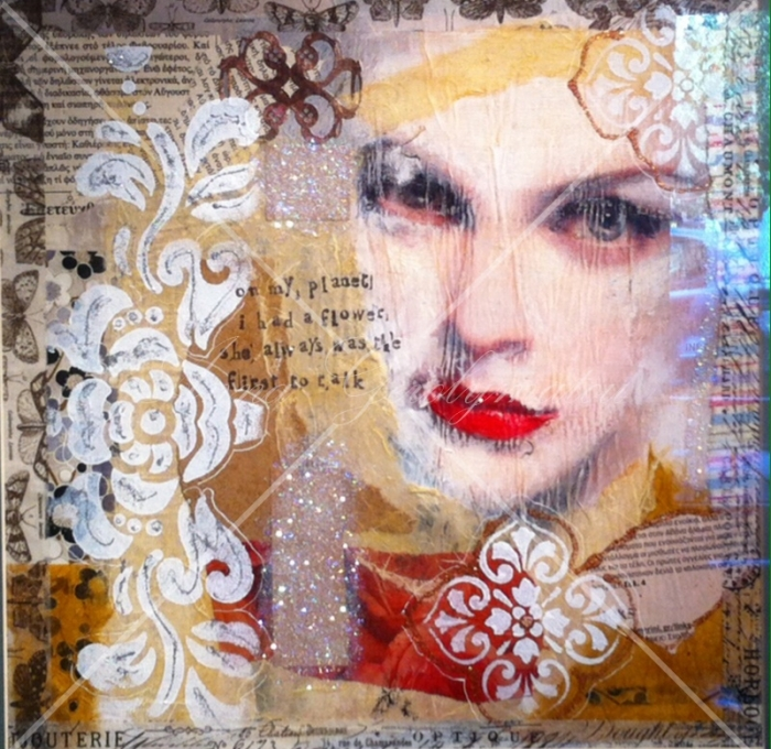 Anna Gerolymatou- Mixed Media Artist