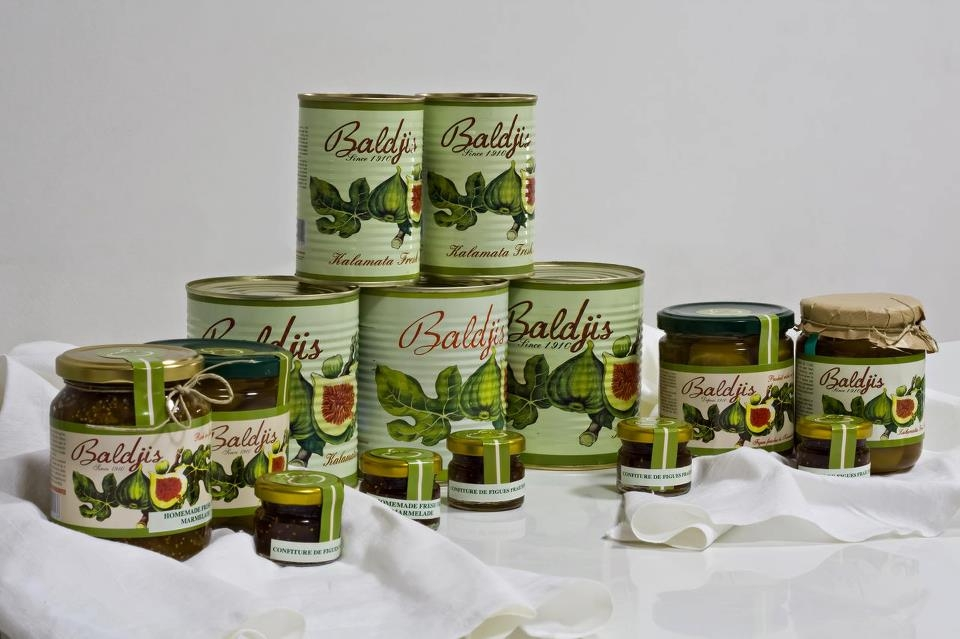 Baldjis Ltd-Figs...olive paste..fruits..artichokes.