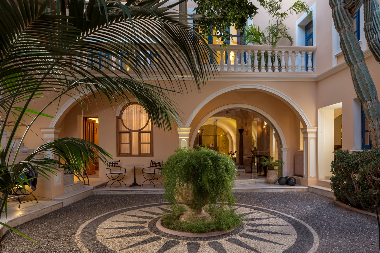 Casa Delfino Hotel and Spa Chania Crete.