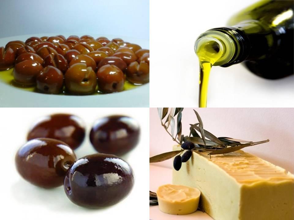 Manaki olives products.
