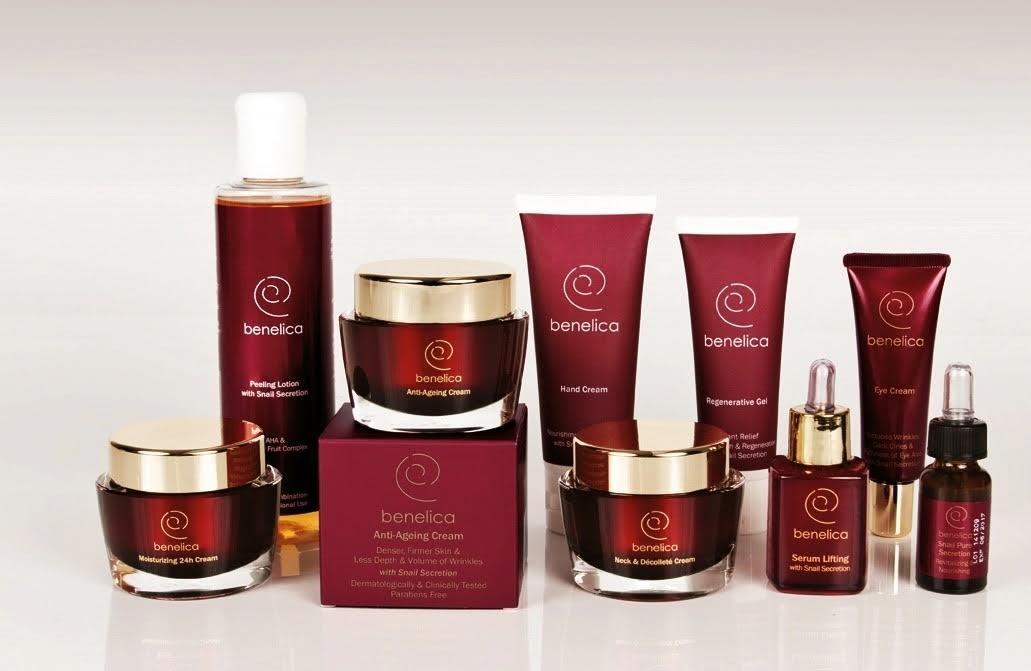 ''Benelica'' Cosmetics products.