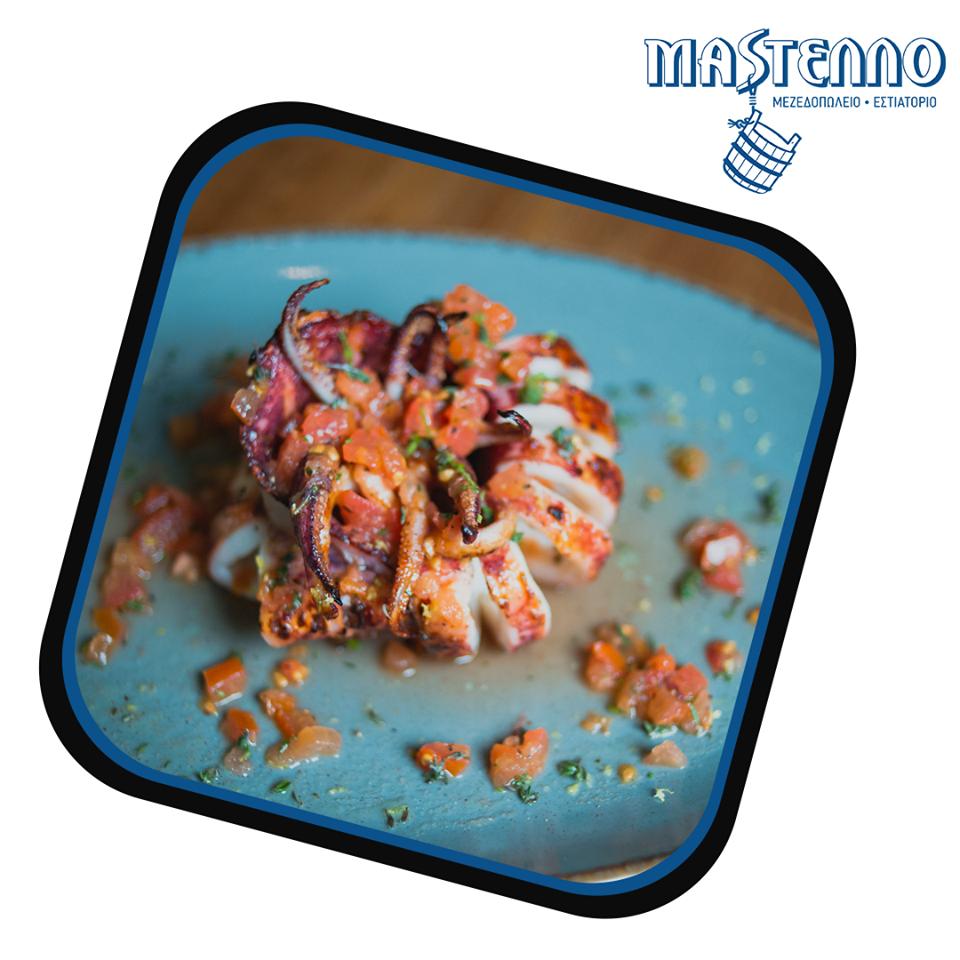 Mastello Seafood Restaurant - Andros island