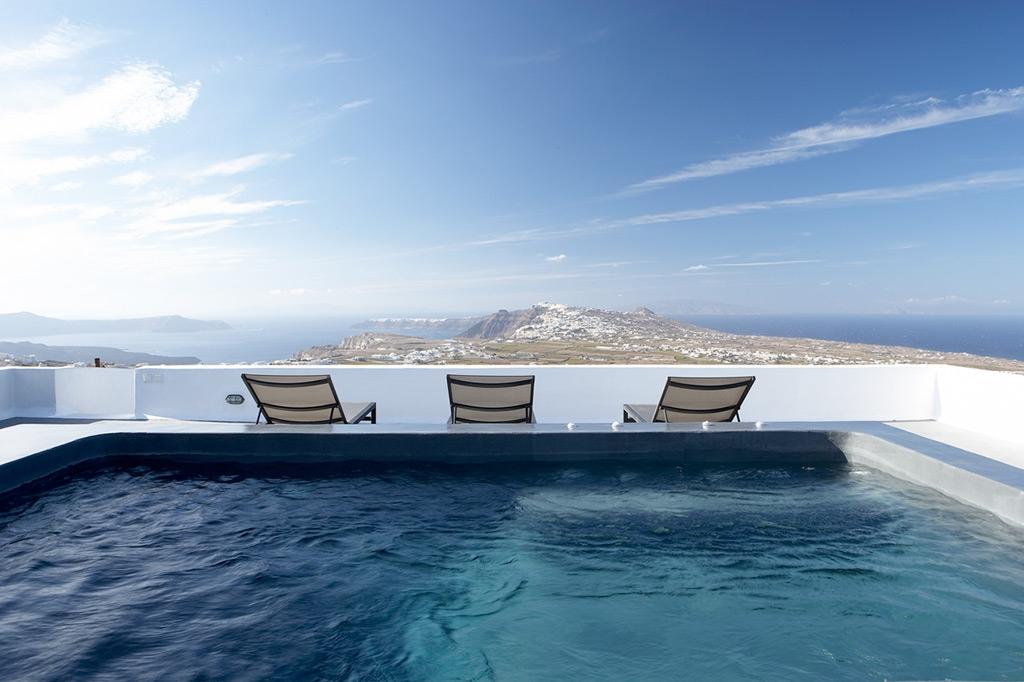 Villa Fabrica Santorini island