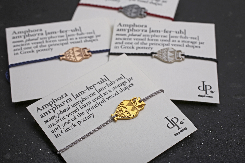''Daphne P'' . Jewellery designer.