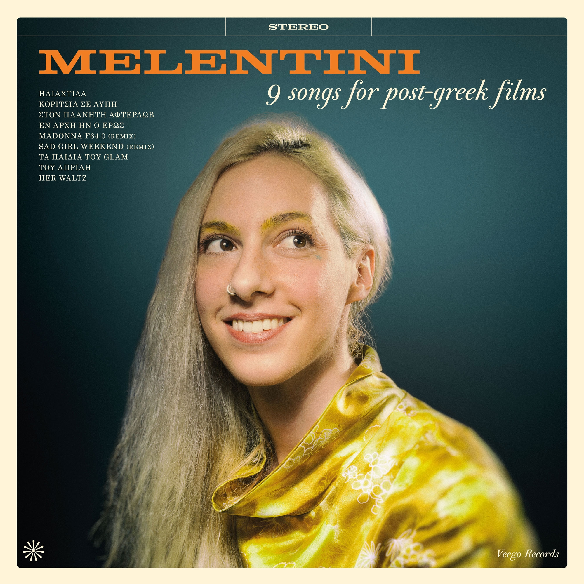 """9 songs for Post Greek Films""  By Melentini."