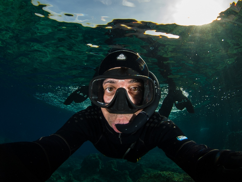 Yiannis Issaris marine ecologist/underwater photographer