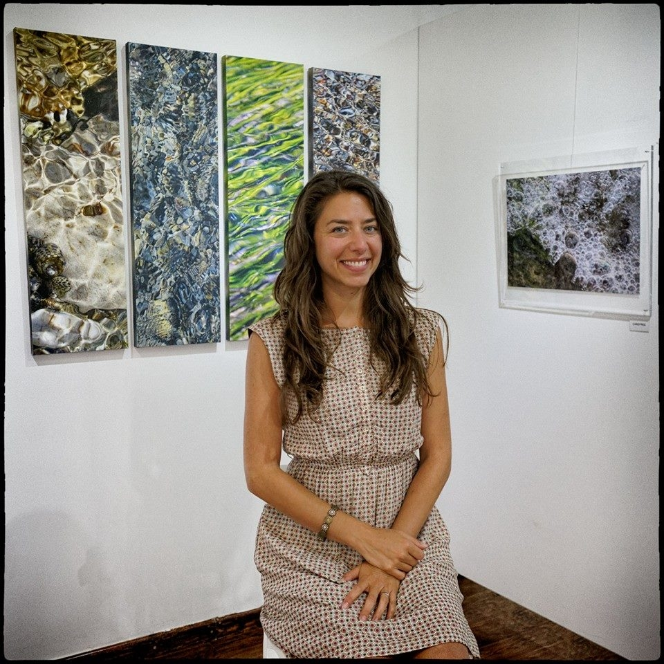Melissa Vlahos artist, answers in our questions.