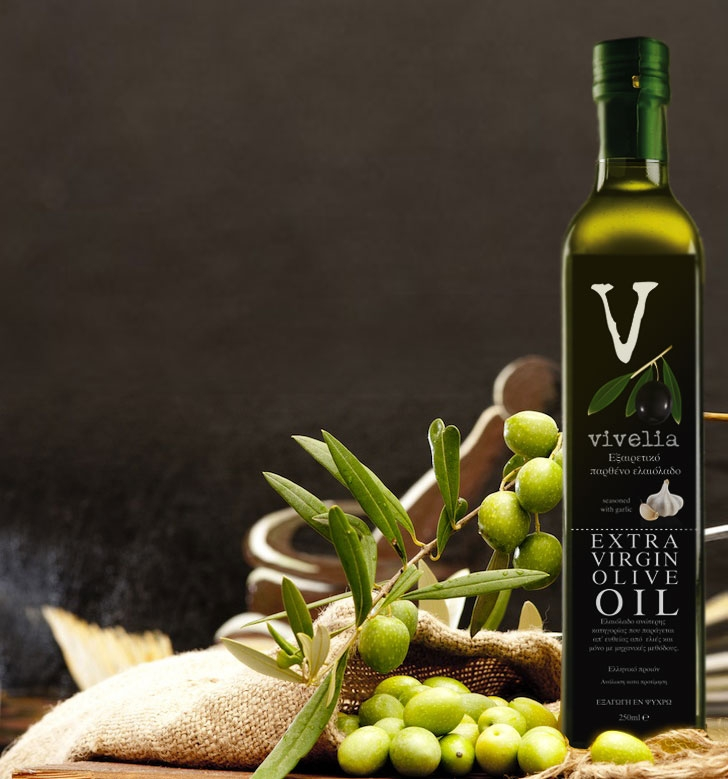 ''Vivelia''. Extra Virgin Olive Oil.