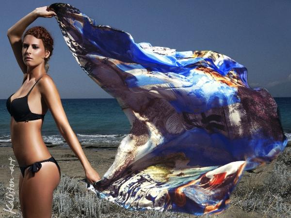 Kaliston Art /Luxury silk scarves and pareo