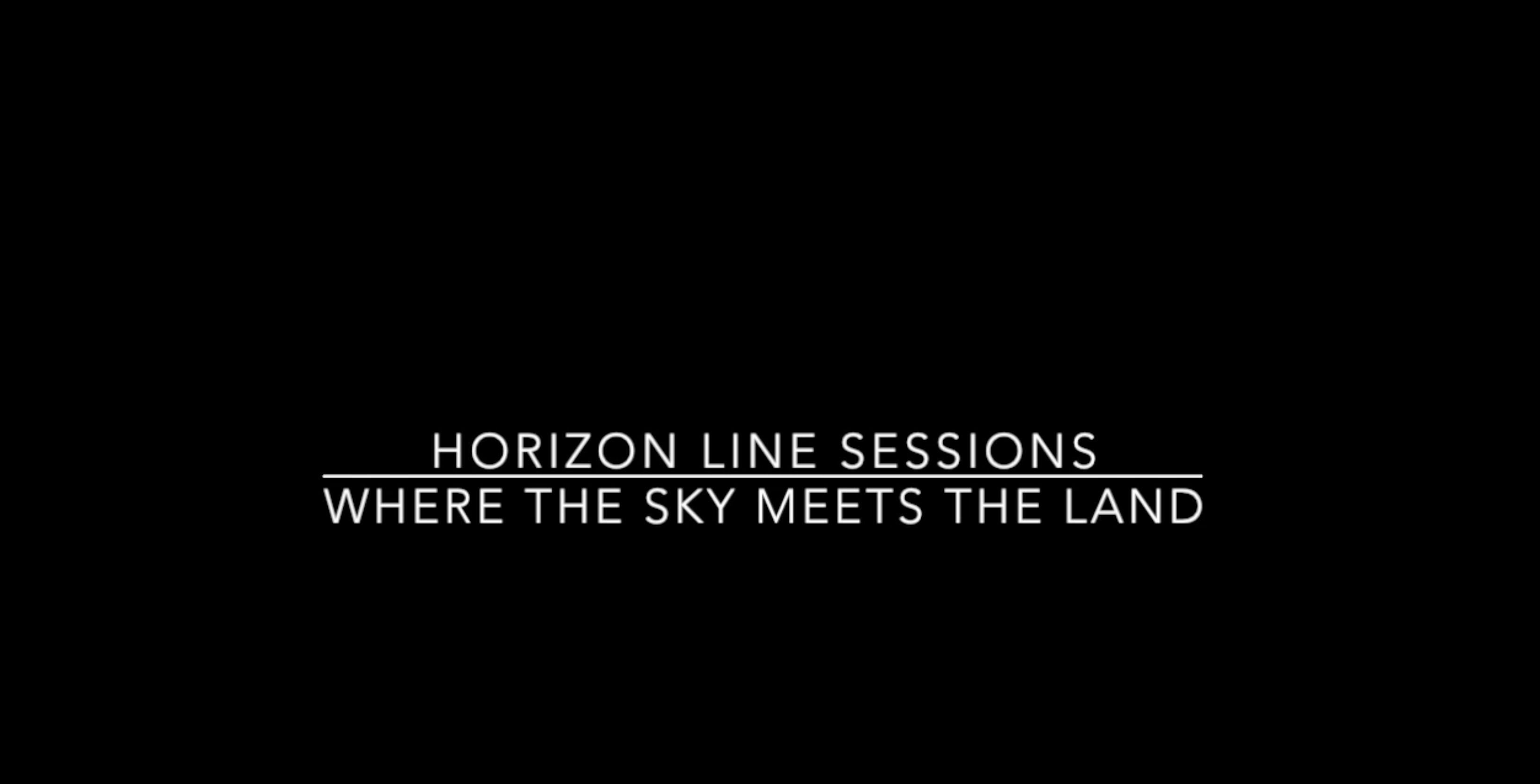Ηοrizon Line Sessions - An art Project by The Blender Gallery