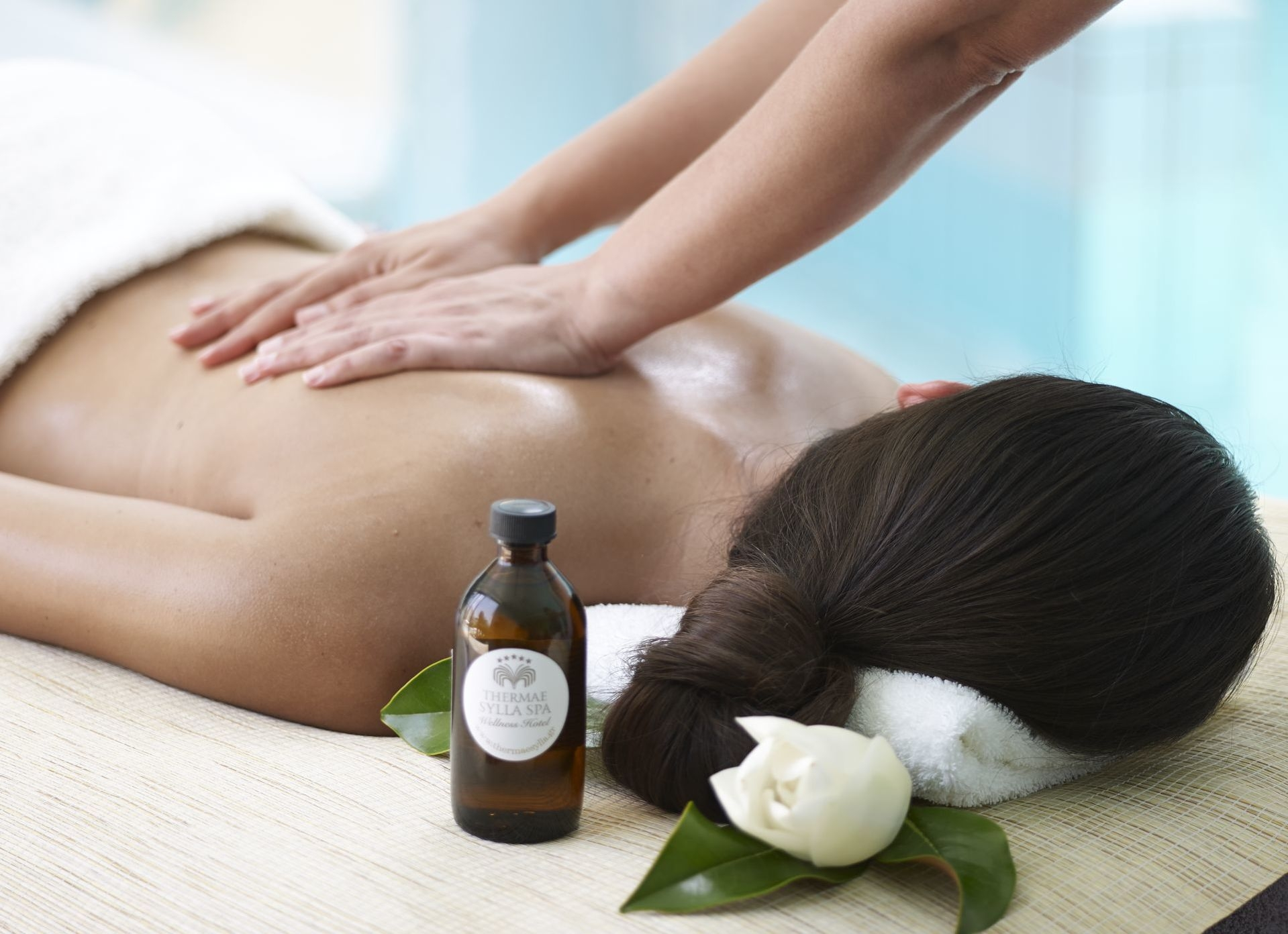 Spa Products -Thermae Sylla Wellness Hotel.