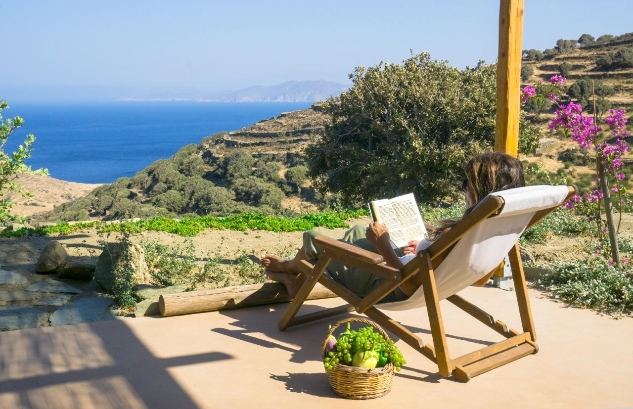 Tinos Eco Lodge / Island of Tinos.
