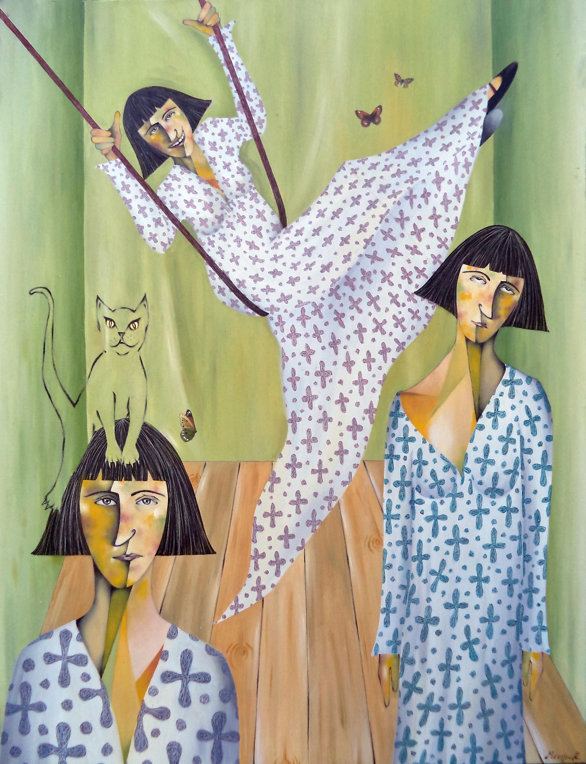 Kelly Mentzou - Painter