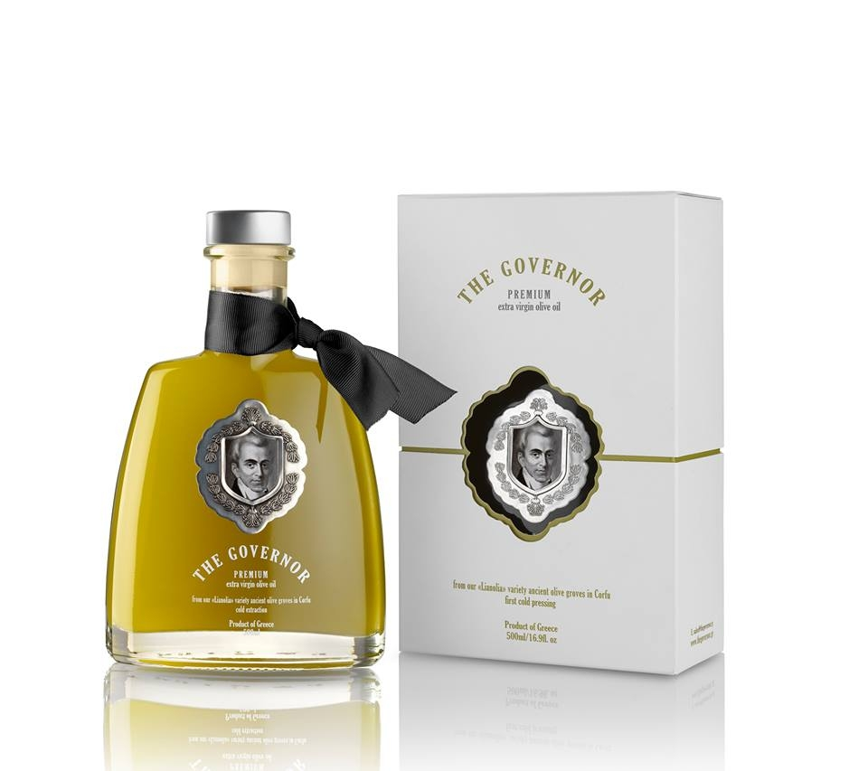 """The Governor"" Premium Extra Virgin Unfiltered Olive Oil."